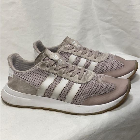 blush pink adidas shoes